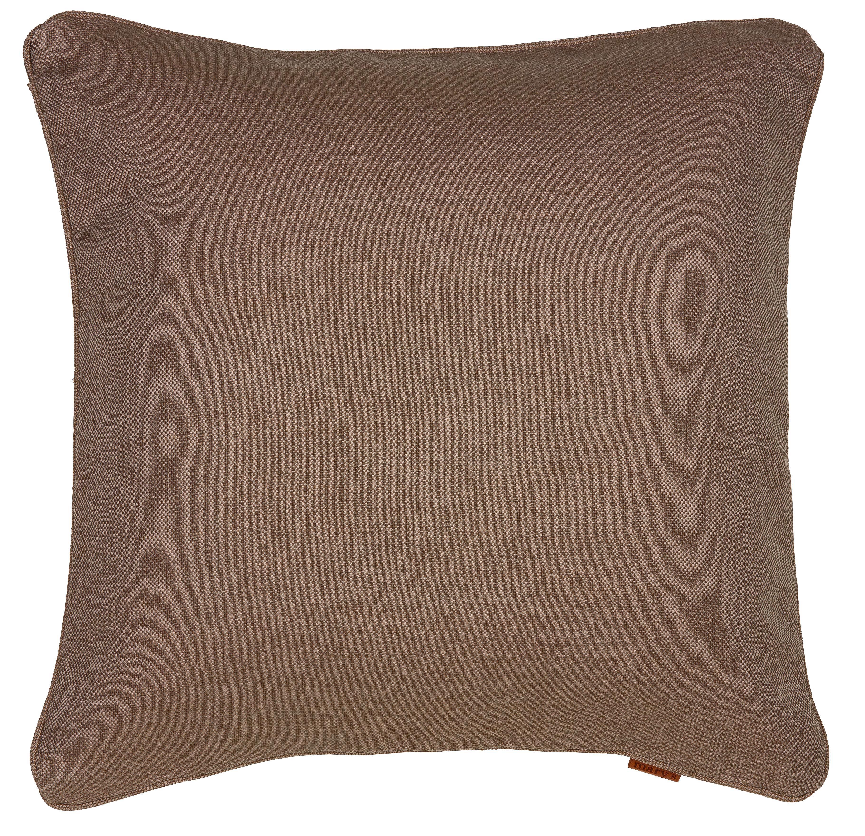 Párnahuzat Jenni Jute - szürkésbarna, modern, textil (48/48cm) - MÖMAX modern living