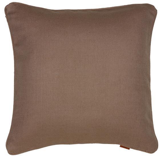 Párnahuzat Jenni Jute - Taupe, modern, Textil (48/48cm) - Mömax modern living