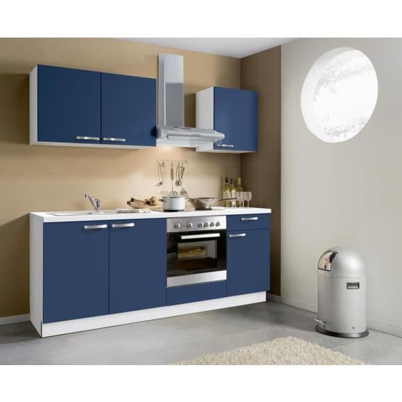 Kuhinjski Blok Win - bela/temno modra, Moderno, leseni material (200cm) - Express