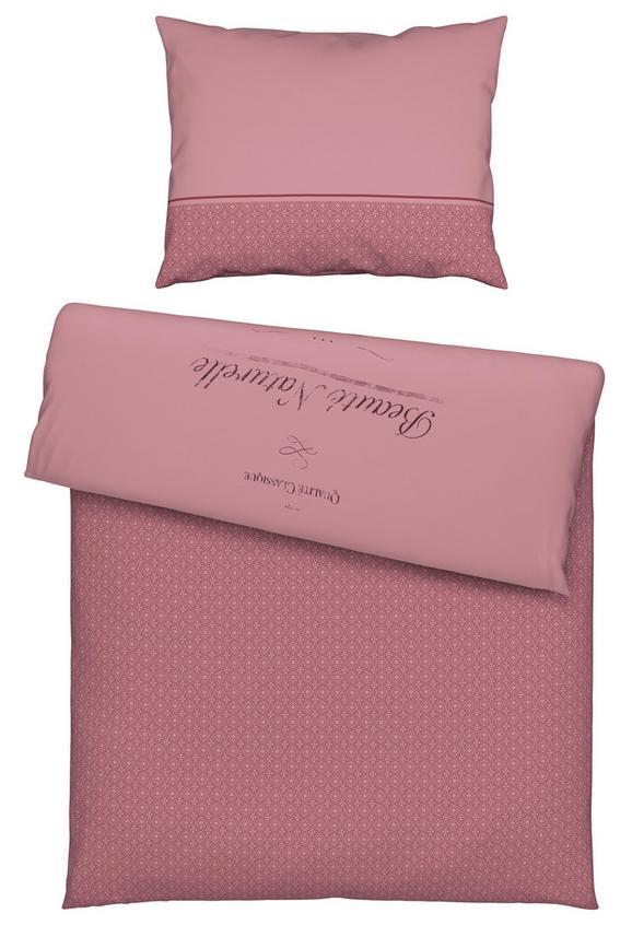 Ágyneműhuzat- Garnitúra Beaute -ext- - rózsaszín, romantikus/Landhaus, textil (140/200cm) - MÖMAX modern living