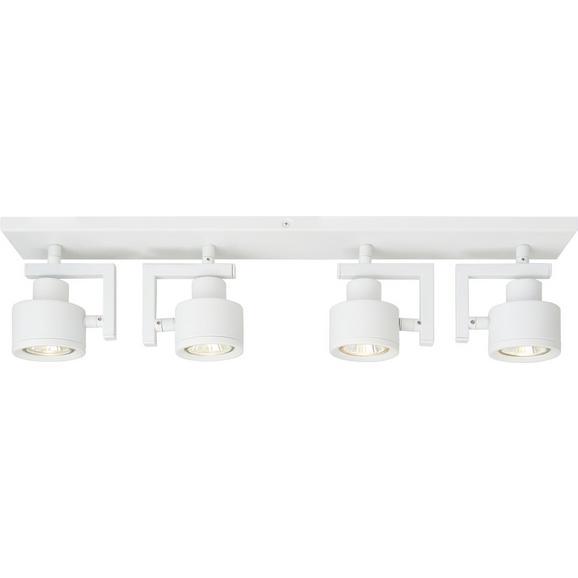 LED-Deckenleuchte max. 42 Watt 'Sam' - Weiß, MODERN, Metall (57/8/13cm) - Bessagi Home