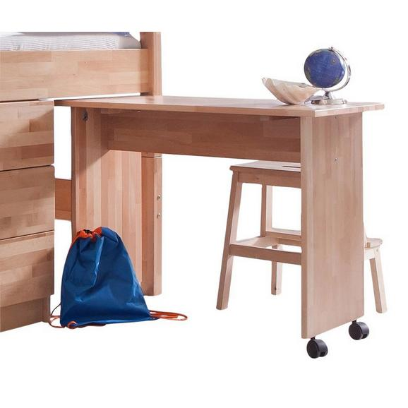 Jugendschreibtisch 94/70/50 cm 'Kim' - Naturfarben, Design, Holz/Kunststoff (94/70/50cm) - Bessagi Kids