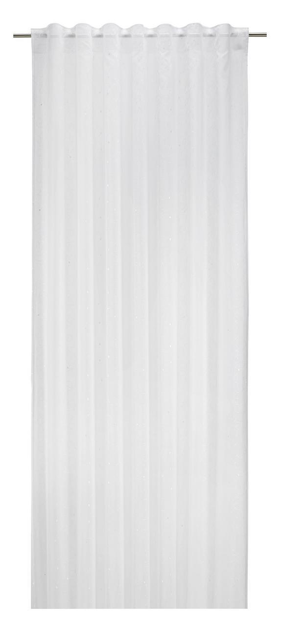 Končana Zavesa Fiona - bela, Konvencionalno, tekstil (140/245cm) - Mömax modern living