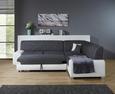 Sjedeća Garnitura Miami - bijela/siva, MODERN, tekstil/drvo (260/210cm)