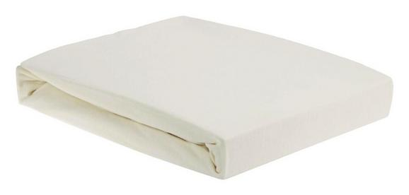 Plahta S Gumicom Elasthan Ca. 180x200cm - prirodne boje, tekstil (180/200cm) - Premium Living