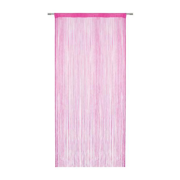 Zsinórfüggöny Franz 90/245 - Pink, Textil (90/245cm) - Modern Living