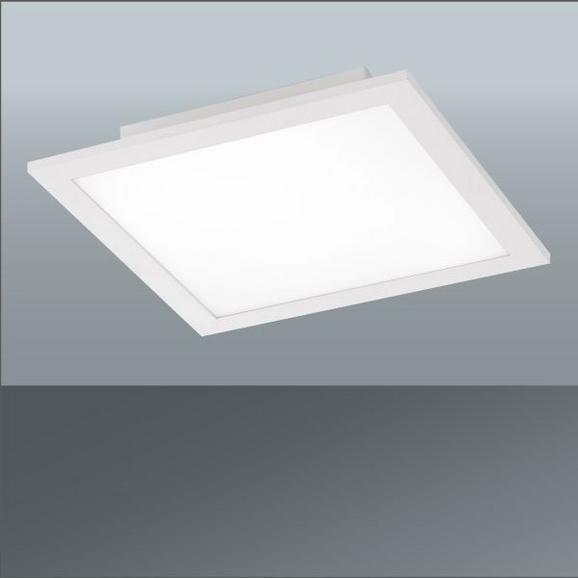 Stropna Led-svetilka Flat - bela, Moderno, kovina (30/30/5,6cm)