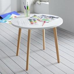 Kindertisch Weiss Naturfarben Online Kaufen Momax