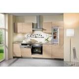 Kuhinjski Blok Plan - barve hrasta/peščena, Moderno, umetna masa (280cm)