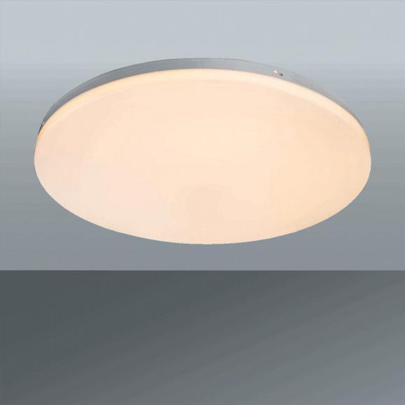 LED-Deckenleuchte Jana, max. 30 Watt - Weiß, KONVENTIONELL, Kunststoff/Metall (47/6cm)