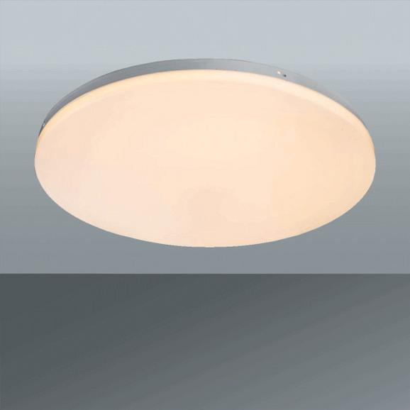 Stropna Led-svetilka Jana 1 - bela, Konvencionalno, kovina/umetna masa (47/6cm)