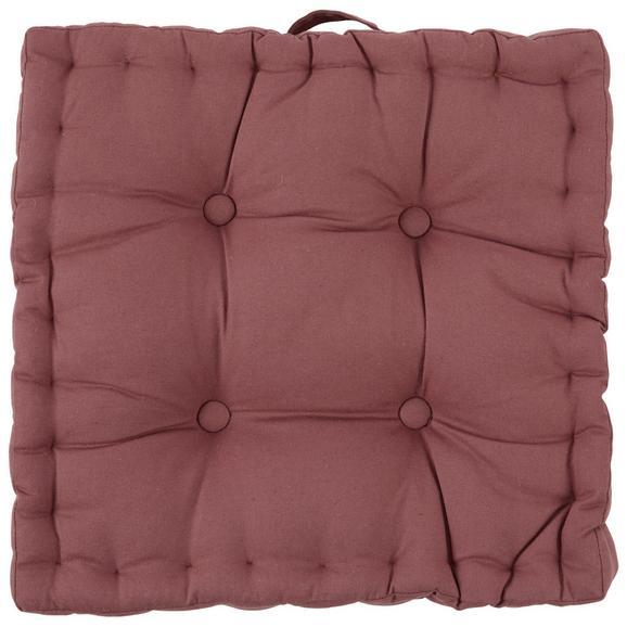 Pernă De Scaun Ninix - ruginiu, textil (40/40/10cm) - Modern Living