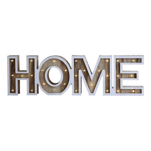 Okrasna Led-svetilka Home - Romantika, les (38/3,2/11cm)