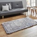 Fellteppich Romy 80x150 cm - Grau, MODERN, Textil (80/150cm) - Mömax modern living