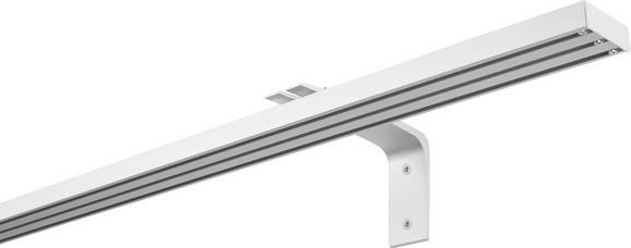 Träger Rail in Silber - Silberfarben, Metall (12cm) - MÖMAX modern living