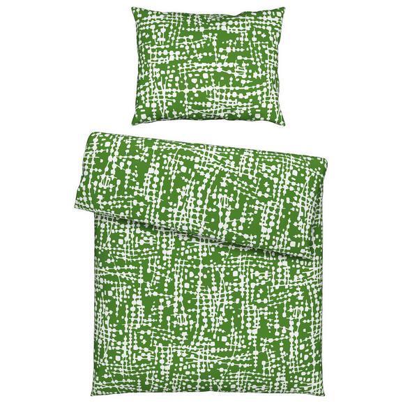 Bettwäsche in versch. Farben 135x200cm - Grau/Grün, KONVENTIONELL, Textil (135/200cm) - Mömax modern living