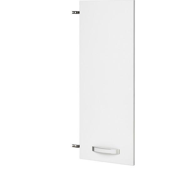 Vrata Ducato - bela, Moderno, kovina/umetna masa (39.4/105.3/1.8cm) - Premium Living