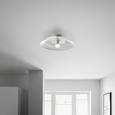 Deckenleuchte Angelo - Weiß, MODERN, Metall (48/13cm) - Bessagi Home