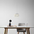 Hängeleuchte max. 42 Watt 'Arjeta' - Weiß, MODERN, Metall (30/120cm) - Bessagi Home