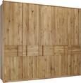 Drehtürenschrank in Eichefarben - Eichefarben, Holz/Holzwerkstoff (256/223/63cm) - Premium Living