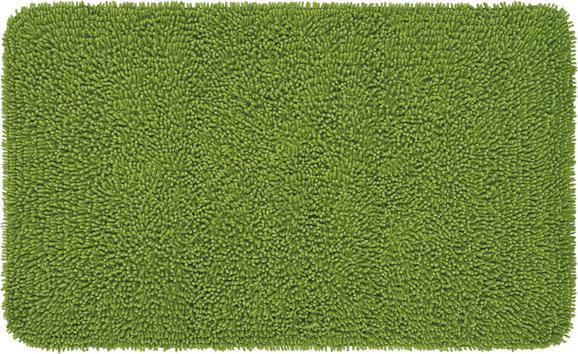 Fürdőszobaszőnyeg Jenny - Zöld, Textil (70/120cm) - Mömax modern living