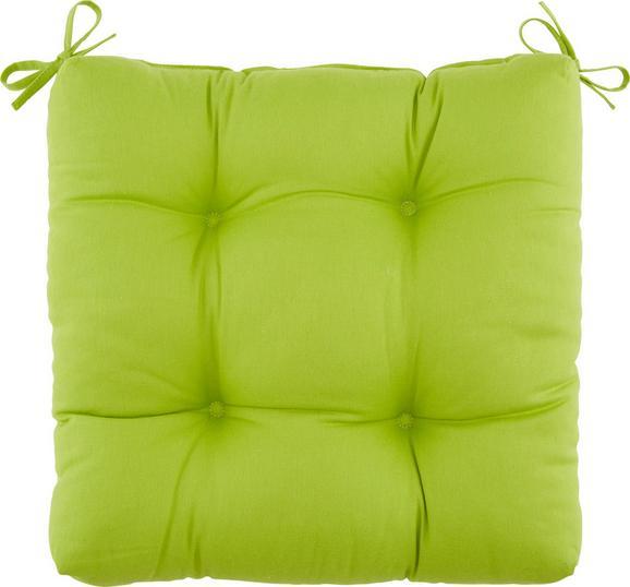 Sedežna Blazina Elli -top- - zelena, tekstil (40/40/7cm) - Based