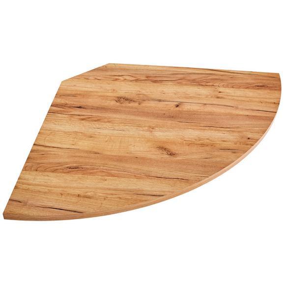 Kotna Povezovalna Plošča Profi - hrast, Moderno, leseni material (98/2/98cm) - Mömax modern living