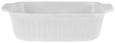 Auflaufform Pura in Weiß aus Keramik - Weiß, MODERN, Keramik (25,3/6,7/16,4cm)