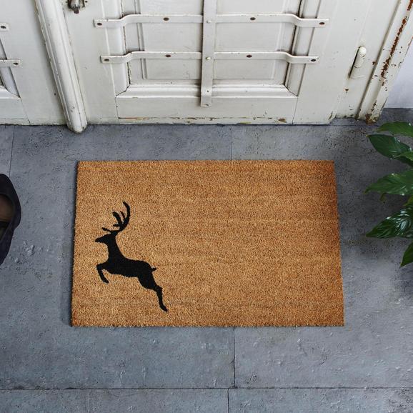 Fußmatte My Deer ca.40x60cm - Braun, MODERN, Textil (40/60cm) - Mömax modern living