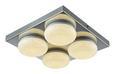 LED-Deckenleuchte Pete, max. 3,5 Watt - Chromfarben, ROMANTIK / LANDHAUS, Kunststoff/Metall (28/6,5cm) - Mömax modern living