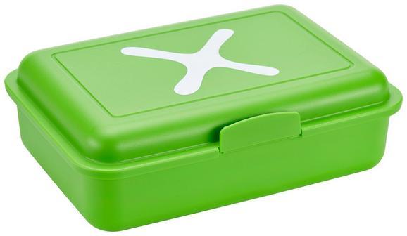 Jausenbox Mömax 4 You Versch. Farben - Pink/Weiß, Kunststoff (15,2/11,7/5,1cm)