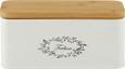 Škatla Za Čaj Lore - bela, Romantika, kovina/les (20/8,5/8,5cm) - Zandiara