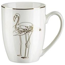Lonček Za Kavo Golden Couple - zlata/bela, Trendi, keramika (8,5/10,6cm) - Mömax modern living
