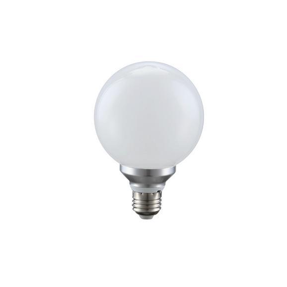 Žarnica 10636 - opal/srebrna (9,5/13,7cm)