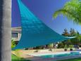 Sonnenblende Tim in Blau - Blau, Textil (300/300/300cm) - MÖMAX modern living