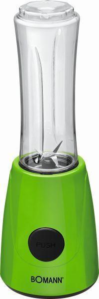 Turmixgép Colour - zöld, műanyag (13,0/37,0/12,5cm) - BOMANN