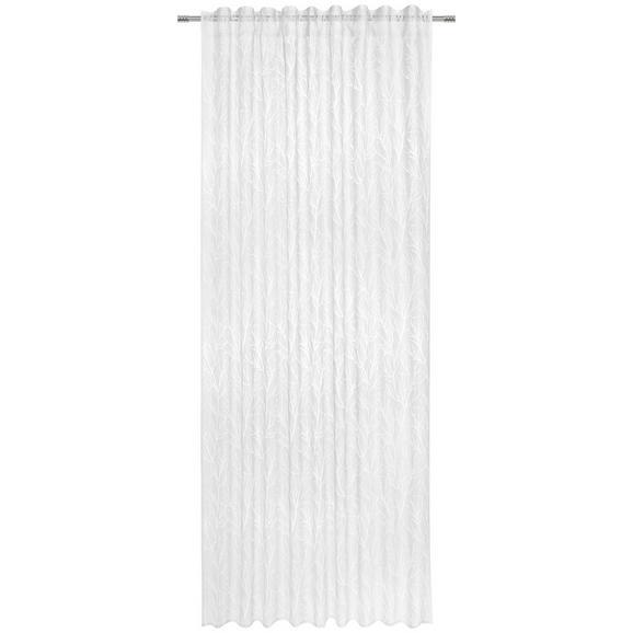Fertigvorhang Tristan Weiß 140x245cm - Weiß, KONVENTIONELL, Textil (140/245cm) - Premium Living