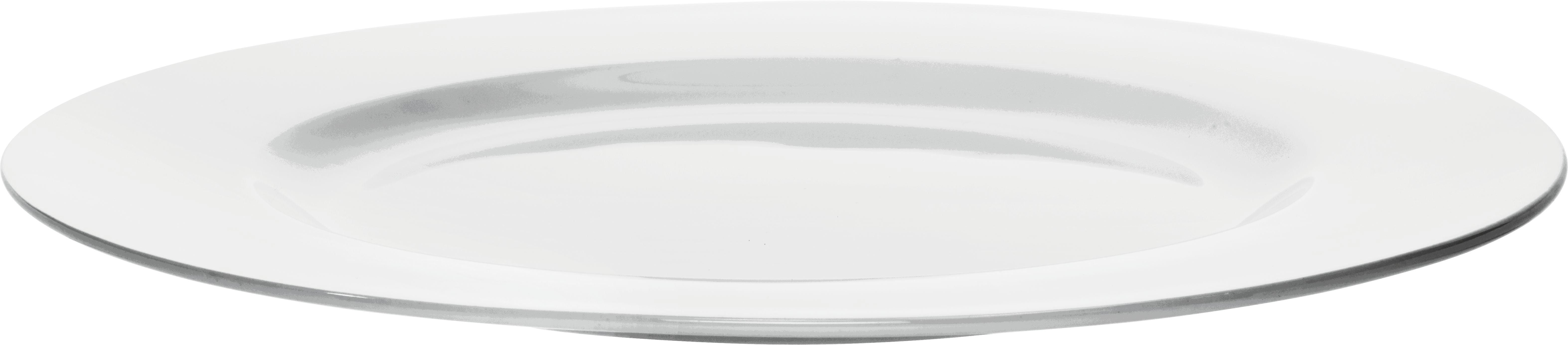 Plitvi Krožnik Bonnie - bela, Moderno, keramika (26,6cm) - MÖMAX modern living