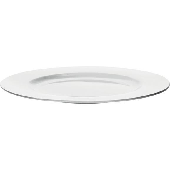 Speiseteller Bonnie in Weiß Ø ca. 26,6cm - Weiß, MODERN, Keramik (26,6cm) - Mömax modern living