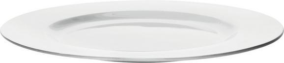 Speiseteller Bonnie Weiß - Weiß, MODERN, Keramik (26,6cm) - Mömax modern living