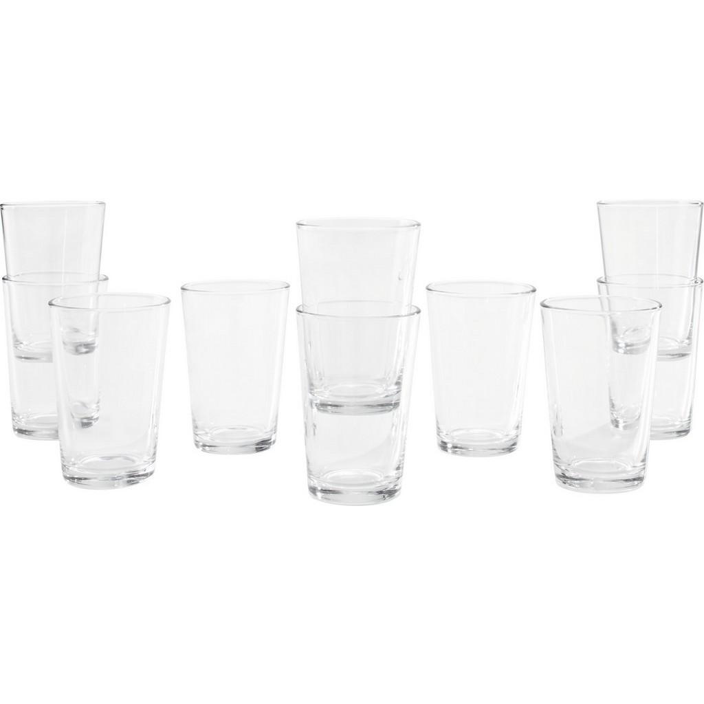 Trinkglas Klara ca. 190ml, 10-teilig