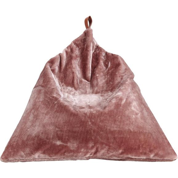 Sitzsack Lilia ca.100x100cm in Rosa - Rosa, MODERN, Textil (100/100/100cm) - Bessagi Home