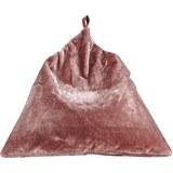Sitzsack Lilia ca.100x100cm in Rosa - Rosa, MODERN, Textil (100/100/100cm)