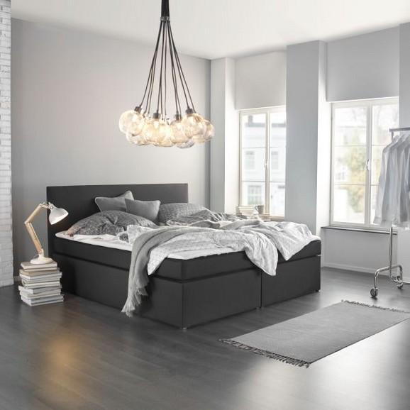 boxspringbett lucy 180x200cm inkl topper online kaufen m max. Black Bedroom Furniture Sets. Home Design Ideas