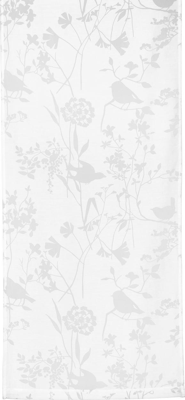 Lapfüggöny Blume/vögel - natúr színek, romantikus/Landhaus, textil (55/245cm) - MÖMAX modern living