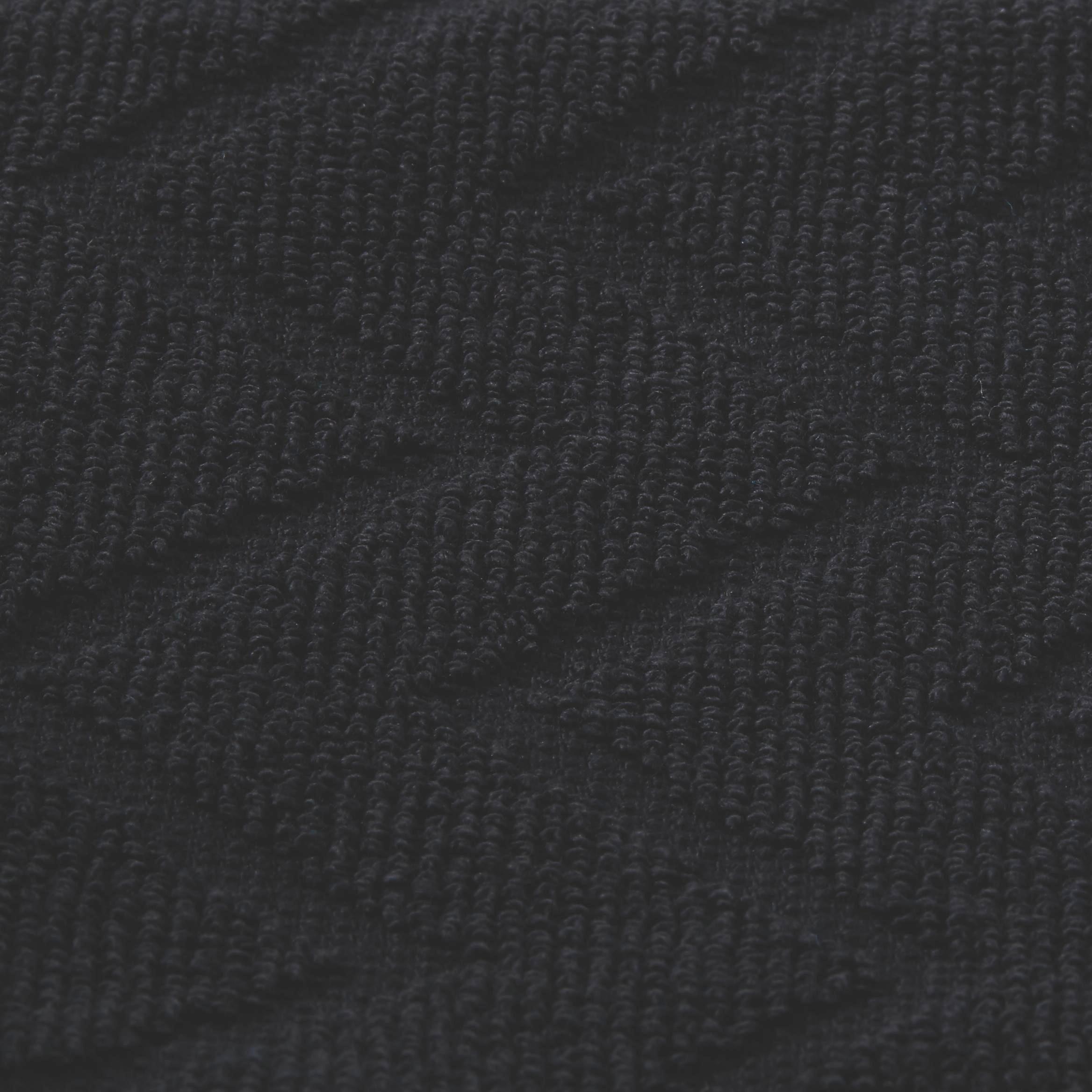 Handtuch Peter in Schwarz - Schwarz, Textil (50/100cm) - MÖMAX modern living