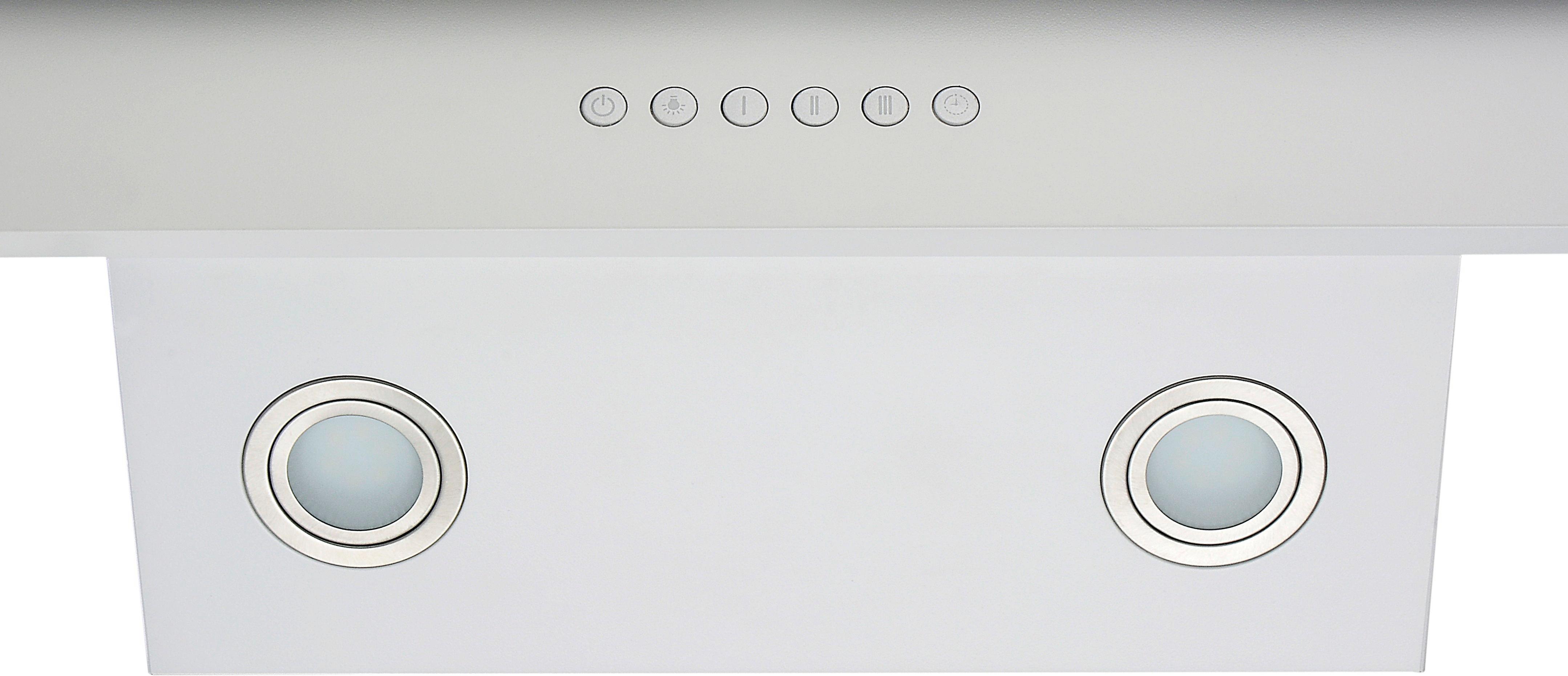 Dunstabzugshaube Ch 66038-60 W - Weiß, MODERN, Metall (60/70,2-100,2/41,8cm)