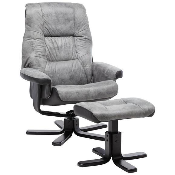 relaxsessel in grau mit hocker online kaufen m max