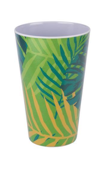 Pohár Alisha - Sárga/Zöld, Műanyag (8,5/13cm) - MÖMAX modern living