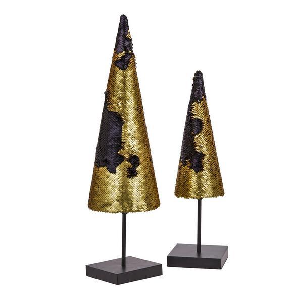 Okrasno Drevo Katy - črna/zlata, kovina (10,5/10,5/41cm) - Mömax modern living
